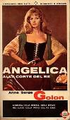 Copertina dell'audiolibro Angelica alla corte del re