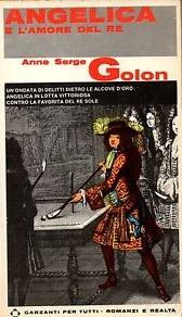Copertina dell'audiolibro Angelica e l'amore del re di GOLON, Anne e Serge