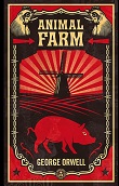 Copertina dell'audiolibro Animal farm di ORWELL, George