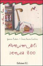 Copertina dell'audiolibro Animali senza zoo di RODARI, Gianni - CANTONE, Anna Laura