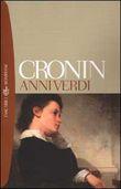 Copertina dell'audiolibro Anni verdi di CRONIN, Archibald Joseph