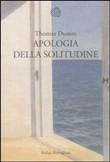 Copertina dell'audiolibro Apologia della solitudine di DUMM, Thomas