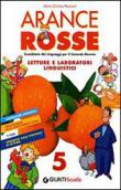 Copertina dell'audiolibro Arance rosse 5 – Letture e laboratori linguistici
