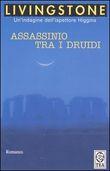 Copertina dell'audiolibro Assassinio tra i druidi di LIVINGSTONE, J.B.