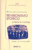 Copertina dell'audiolibro Atti del corso di aggiornamento: Revisionismo storico di ANTONI, Daniela (a cura di )