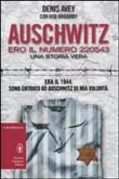 Copertina dell'audiolibro Auschwitz: ero il numero 220543 di AVEY, Denis - BROOMBY, Rob