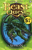 Copertina dell'audiolibro Beast Quest – Sepron il Serpente marino di BLADE, Adam