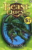 Copertina dell'audiolibro Beast Quest – Sepron il Serpente marino