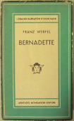 Copertina dell'audiolibro Bernadette di WERFEL, Franz