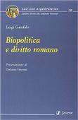 Copertina dell'audiolibro Biopolitica e diritto romano