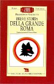 Copertina dell'audiolibro Breve storia della grande Roma di VALITUTTI, Francesco