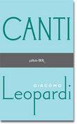 Copertina dell'audiolibro Canti di LEOPARDI, Giacomo