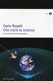 Copertina dell'audiolibro Che cos'è la scienza di ROVELLI, Carlo