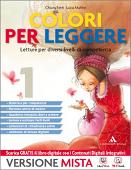 Copertina dell'audiolibro Colori per leggere 1 – Letture per diverse competenze