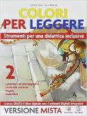 Copertina dell'audiolibro Colori per leggere 2 – versione mista di FERRI, Chiara - MATTEI, Luca