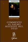 Copertina dell'audiolibro Commento al salmo miserere mei, Deus di SAVONAROLA, Girolamo