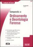 Copertina dell'audiolibro Compendio di ordinamento e deontologia forense di RICCIARDI, Piero