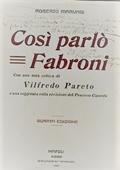 Copertina dell'audiolibro Così parlò Fabroni di MARVASI, Roberto