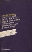 Copertina dell'audiolibro Costituzione senza sovrano