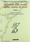 Copertina dell'audiolibro Dal testo alla storia, dalla storia al testo.G:Il Primo 900 e il periodo tra le due guerre