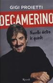Copertina dell'audiolibro Decamerino: novelle dietro le quinte di PROIETTI, Gigi
