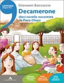 Copertina dell'audiolibro Decamerone: dieci novelle raccontate da Piero Chiara