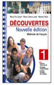 Copertina dell'audiolibro Decouvertes – Cahier d'exercices di CANULLI, M. Pia - LUVIÈ, M. Cristina - PELON, M.