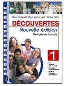 Copertina dell'audiolibro Decouvertes – Methode de francais di CANULLI, M. Pia - LUVIÈ, M. Cristina - PELON, M.
