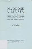 Copertina dell'audiolibro Devozione a Maria di FRANZI, Francesco Maria