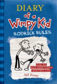 Copertina dell'audiolibro Diary of a Wimpy Kid: Rodrick rules