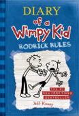 Copertina dell'audiolibro Diary of a Wimpy Kid: Rodrick rules di KINNEY, Jeff
