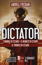Copertina dell'audiolibro Dictator. Il trionfo di Cesare