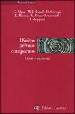Copertina dell'audiolibro Diritto privato comparato di ALPA, G. - BONELL, M.J. - CORAPI, D. e altri..