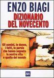 Copertina dell'audiolibro Dizionario del Novecento di BIAGI, Enzo