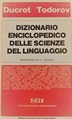 Copertina dell'audiolibro Dizionario enciclopedico delle scienze del linguaggio di DUCROT, O. - TODOROV, T.