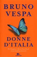 Copertina dell'audiolibro Donne d'Italia di VESPA, Bruno