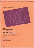 Copertina dell'audiolibro Doppie e accenti di MUGNAINI, Daniele