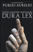 Copertina dell'audiolibro Dura lex di COMASTRI MONTANARI, Danila