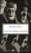 Copertina dell'audiolibro E non disse nemmeno una parola di BÖLL, Heinrich