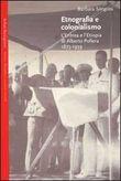 Copertina dell'audiolibro Etnografia e colonialismo di SORGONI, Barbara