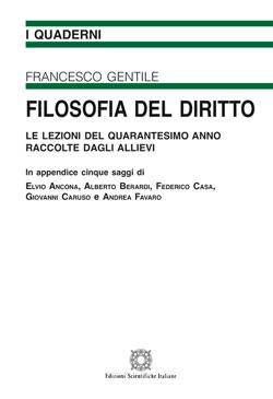 Copertina dell'audiolibro Filosofia del diritto di GENTILE, Francesco