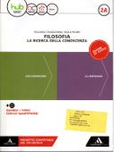 Copertina dell'audiolibro Filosofia la ricerca della conoscenza 2A di CHIARADONNA, Riccardo - PECERE, Paolo