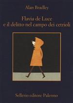 Copertina dell'audiolibro Flavia de Luce e il delitto nel campo dei cetrioli