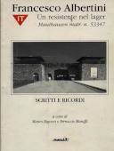 Copertina dell'audiolibro Francesco Albertini. Un resistente nel lager