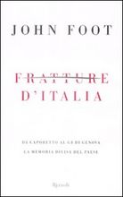 Copertina dell'audiolibro Fratture d'Italia di FOOT, John