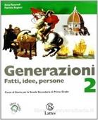 Copertina dell'audiolibro Generazioni 2 di TANCREDI, Anna - BUGIANI, Patrizia