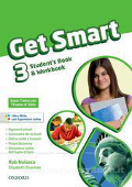 Copertina dell'audiolibro Get Smart 3 – Student's Book – Workbook di NOLASCO, Rob - SHARMAN, Elizabeth