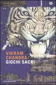 Copertina dell'audiolibro Giochi sacri di CHANDRA, Vikram