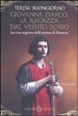 Copertina dell'audiolibro Giovanna d'Arco, la ragazza vestita di rosso