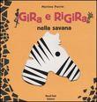Copertina dell'audiolibro Gira e rigira nella savana di PERRIN, Martine